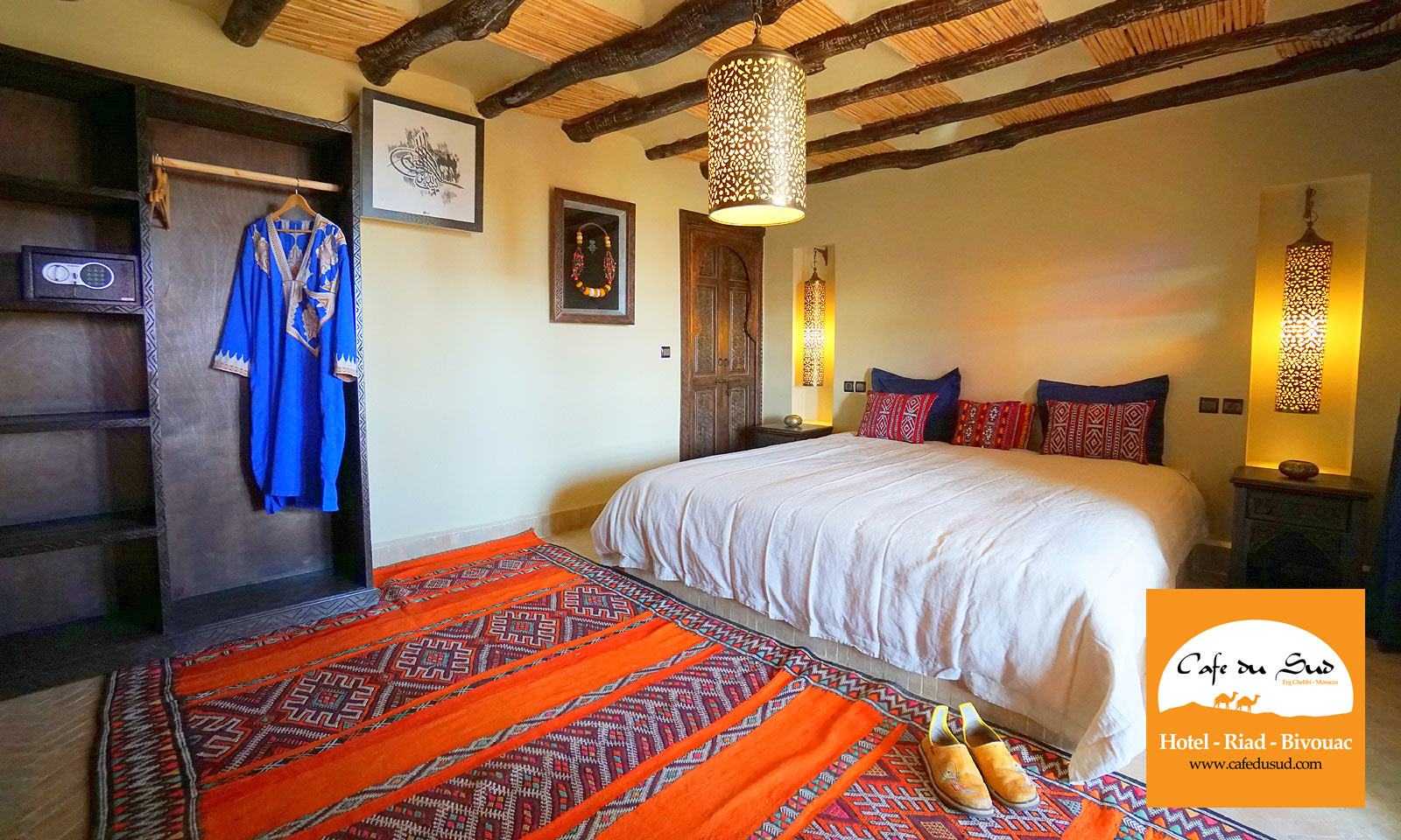 BEDROOM RIAD MOROCCO